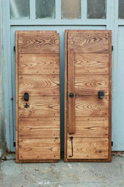 Scuri in legno antichi - Restauro finestre in legno ...